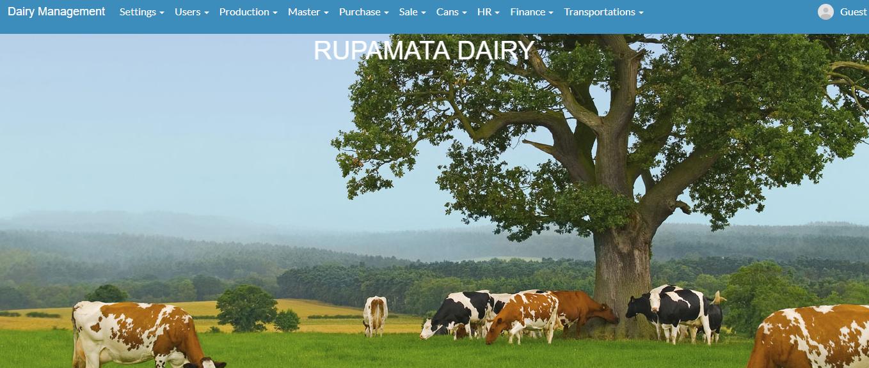 rupamata dairy - weblytics client